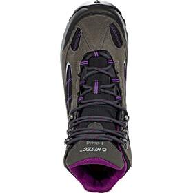 Hi-Tec Altitude VI Lite Mid i WP Shoes Women charcoal/black/amaranth